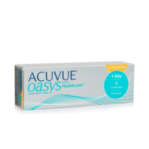 Acuvue Oasys 1-Day with HydraLuxe-otticamax