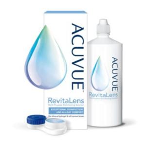Acuvue Revita Lens 100ml-300ml per la disinfezione e la cura delle lenti a contatto